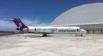IAC Paints Prototype New Livery for Hawaiian Airlines