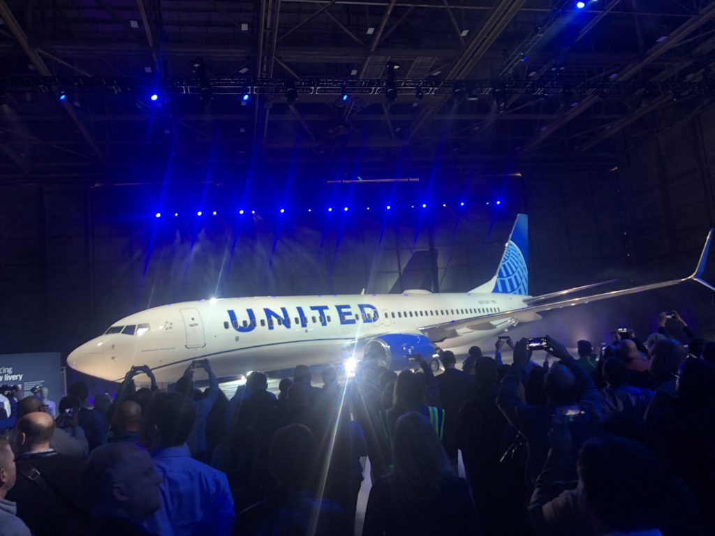 IAC Paints the First of United Airlines' New Livery