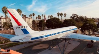 International Aerospace Coatings is Proud to be A Part of United Airlines DC-8 Restoration Project at the USC Science Center
